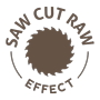 Saw Cut Raw efekt